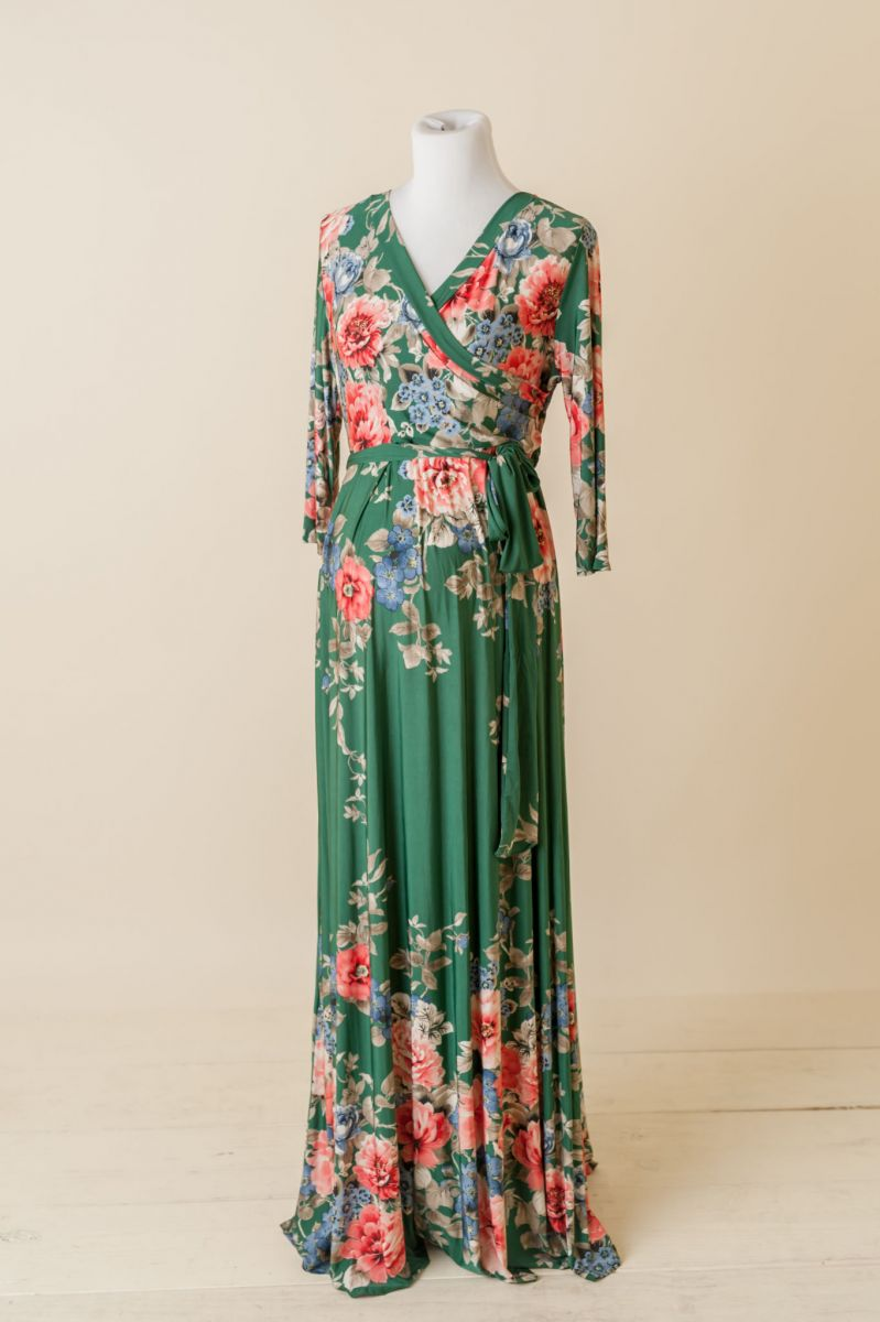 Products archive mama bump rentals green floral sash tie maternity ombrellifo Image collections