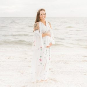 Rent this hand made dress for your maternity photo shoot